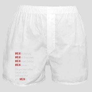 MenProblemsDark Boxer Shorts
