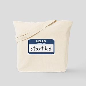 Feeling startled Tote Bag
