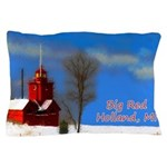 Big Red Lighthouse, Holland, MI Pillow Case