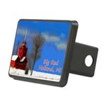 Big Red Lighthouse, Hollan Rectangular Hitch Cover