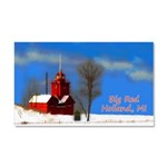 Big Red Lighthouse, Holland, MI Car Magnet 20 x 12