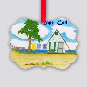 Notecard-#2000 Near Nauset Picture Ornament