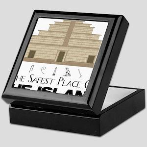 Temple Keepsake Box