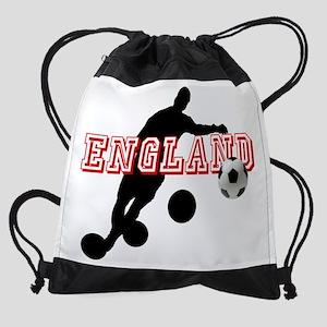 English Football Player Drawstring Bag