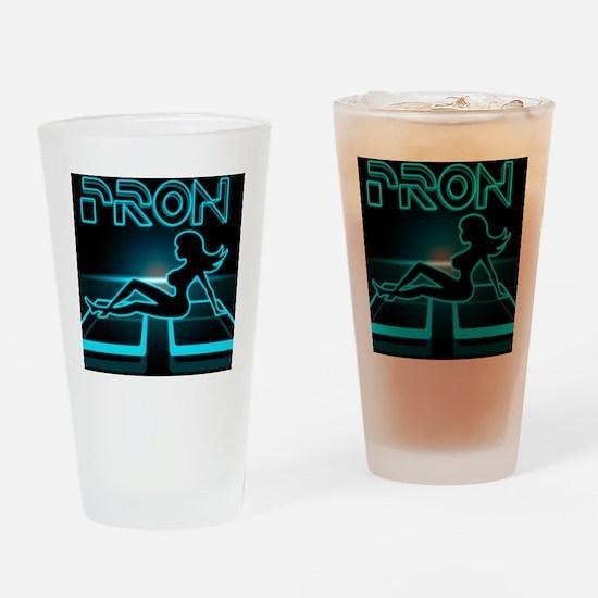 pron Drinking Glass