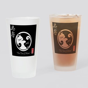 tao-of-meow Drinking Glass