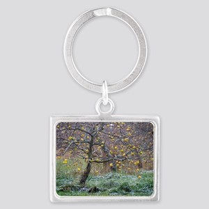 Early Snows Landscape Keychain