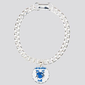 drums_littlebrothersroll Charm Bracelet, One Charm