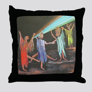 10x10_apparel_sistahs Throw Pillow