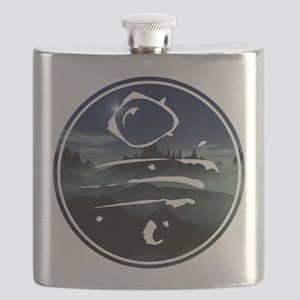 spoonfed tribe tee design 7 Flask