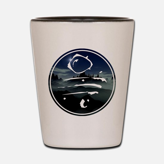 spoonfed tribe tee design 7 Shot Glass