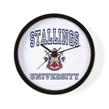 STALLINGS University Wall Clock