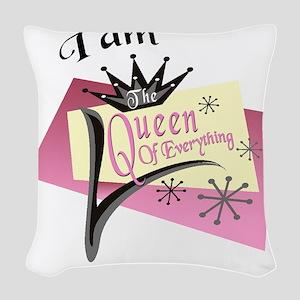 iamquuen Woven Throw Pillow