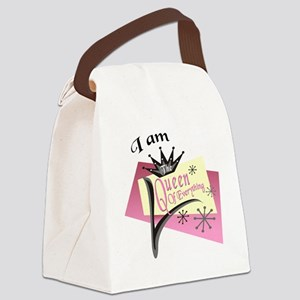 iamquuen Canvas Lunch Bag