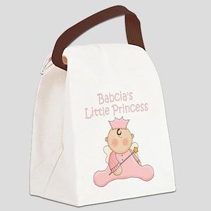Babcias little princess Canvas Lunch Bag