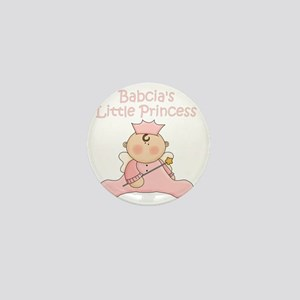 Babcias little princess Mini Button