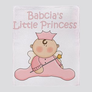 Babcias little princess Throw Blanket