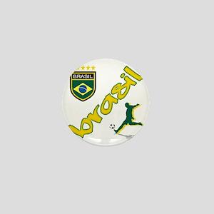 brasil(blk) Mini Button