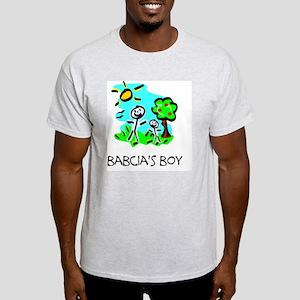 babcias boy stick figure Light T-Shirt