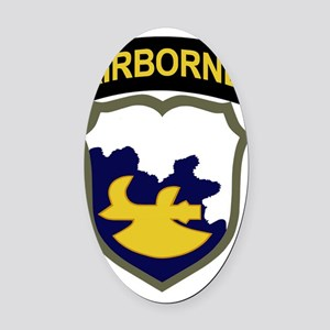 18th Airborne Division Oval Car Magnet