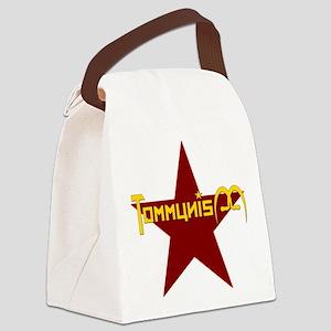 Tommunism Baseball Jersey Canvas Lunch Bag