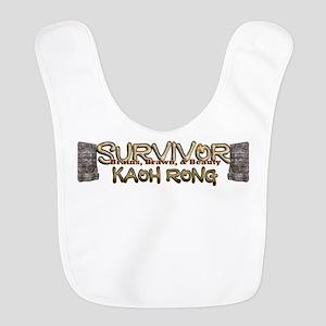 Survivor Kaoh Rong Polyester Baby Bib