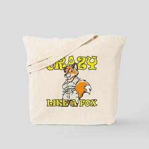crazy_like_a_fox Tote Bag