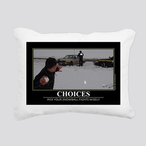 CAFE052Choices1117Wide Rectangular Canvas Pillow