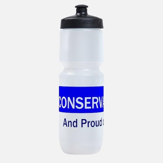 Conservative Slogan Sports Bottle