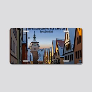 Rothenburg od Tauber - Weis Aluminum License Plate