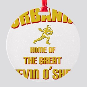 urbania-yellow Round Ornament