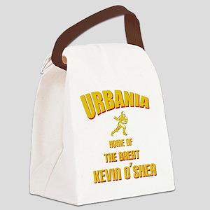 urbania-yellow Canvas Lunch Bag