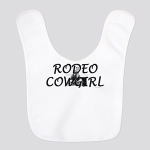 Rodeo Cowgirl Polyester Baby Bib