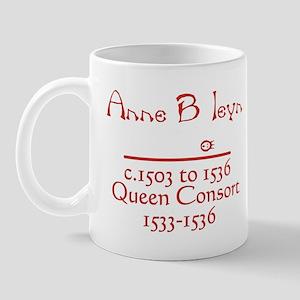 Anne Boleyn Red Mug