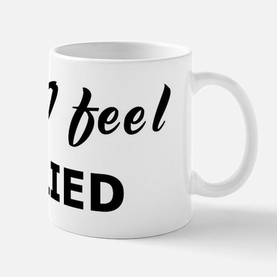 Today I feel bullied Mug