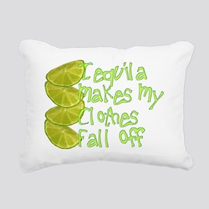 tequila Rectangular Canvas Pillow