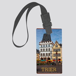 Trier Cross Monument Large Luggage Tag