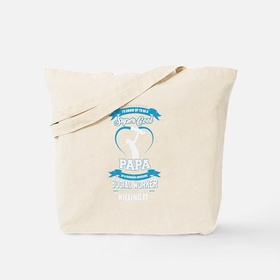 Super Cool Papa Tote Bag