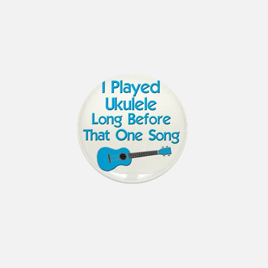 funny ukulele uke ukelele Mini Button