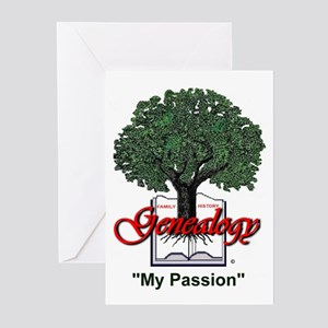 My Passion Greeting Cards (Pk of 10)