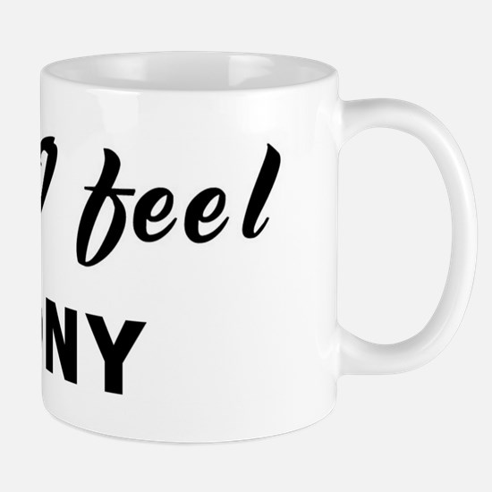 Today I feel agony Mug