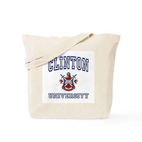 CLINTON University Tote Bag