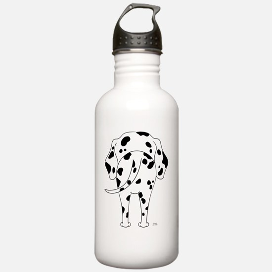 DalmatianShirtBack Water Bottle