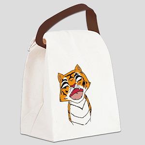 TigerPlain Canvas Lunch Bag