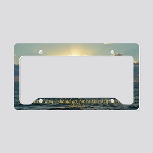 psalm143 License Plate Holder
