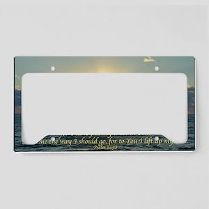 psalm143Lg License Plate Holder