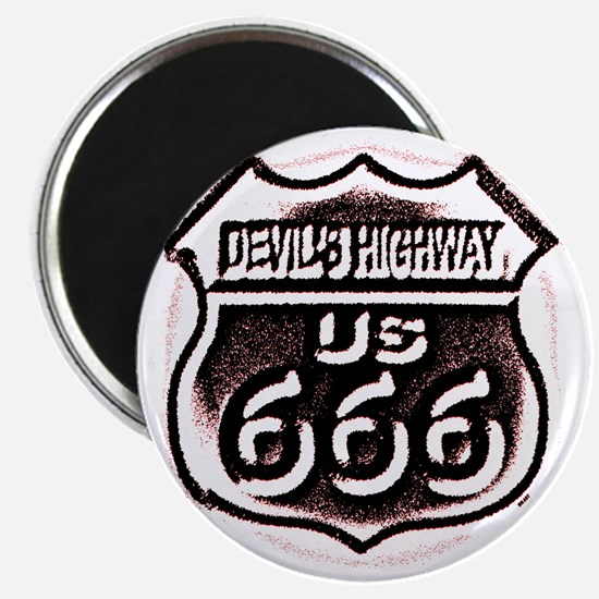 Devils HWY CafePress PNG Magnet