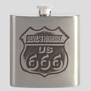 Devils HWY CafePress  Flask