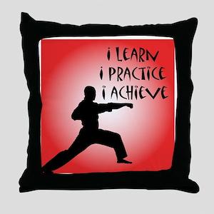 cp_karate3 Throw Pillow