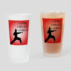 cp_karate3 Drinking Glass